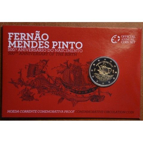 2 Euro Portugal 2011 - 500th annivesary of the birth of Fernão Mendes Pinto (Proof)