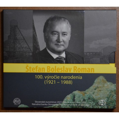 Slovakia 2021 set of coins Štefan Boleslav Roman (BU)