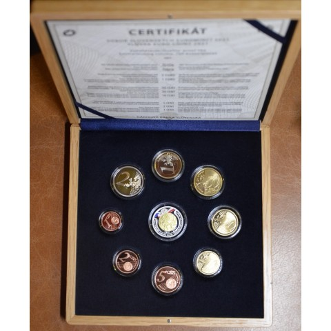 Slovakia 2021 set of coins - 100 years of Czechoslovak coin mintage (Proof)