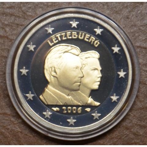 2 Euro Luxembourg 2006 - 25th Birthday of Hereditary Grand Duke Guillaume (Proof)