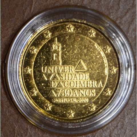 2 Euro Portugal 2020 - University of Coimbra (gold plated UNC)