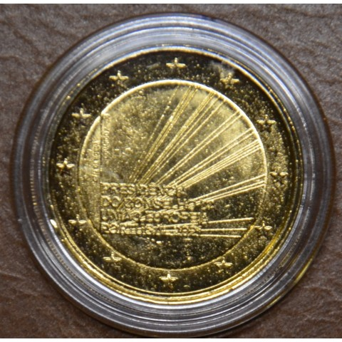 2 Euro Portugal 2021 - Portuguese Presidency of the Council of the European Union (gold plated UNC)