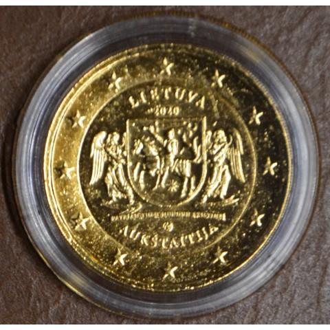 2 Euro Lithuania 2020 - Aukštaitija (gold plated UNC)