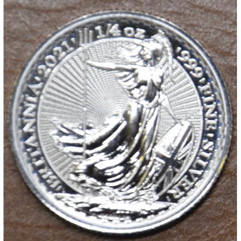 50 pence Britannia 2021 (1/4 oz. Ag)