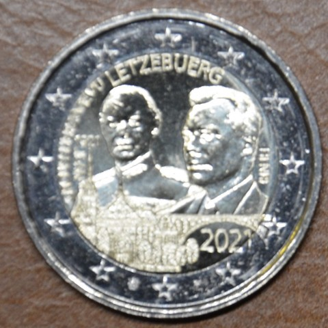2 Euro Luxembourg 2021 -  100th Birthday of Grand Duke Jean version 1 (UNC)