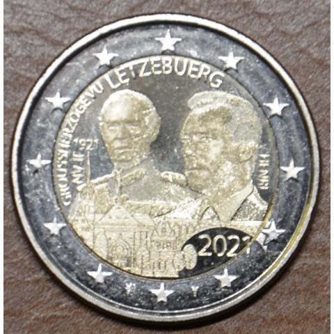 2 Euro Luxembourg 2021 -  100th Birthday of Grand Duke Jean version 2 (UNC)