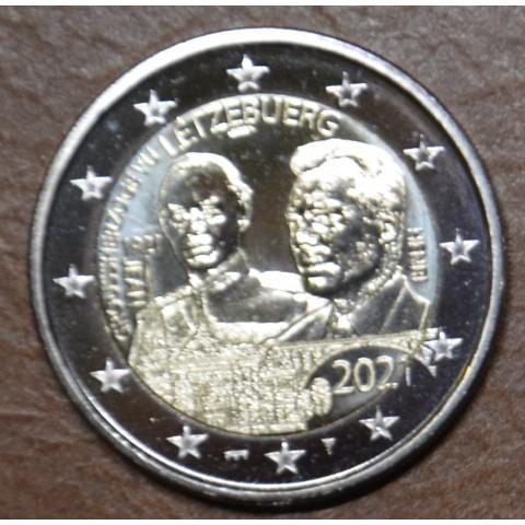 2 Euro Luxembourg 2021 - 100th Birthday of Grand Duke Jean mintmark bridge (UNC)