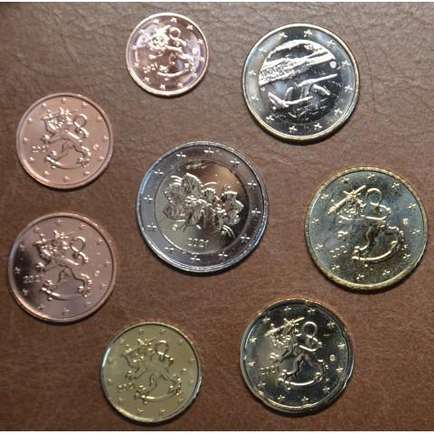 Set of 8 eurocoins Finland 2021 (UNC)