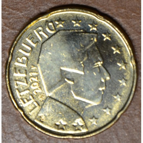 20 cent Luxembourg 2021 (UNC)