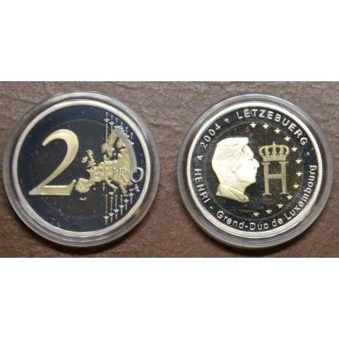 2 Euro Luxembourg 2004 - Effigy and monogram of Grand-Duke Henri (Proof)