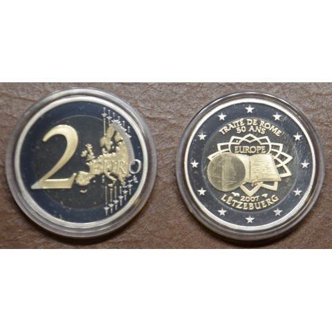2 Euro Luxembourg 2007 - 50th anniversary of the Treaty of Rome (Proof)