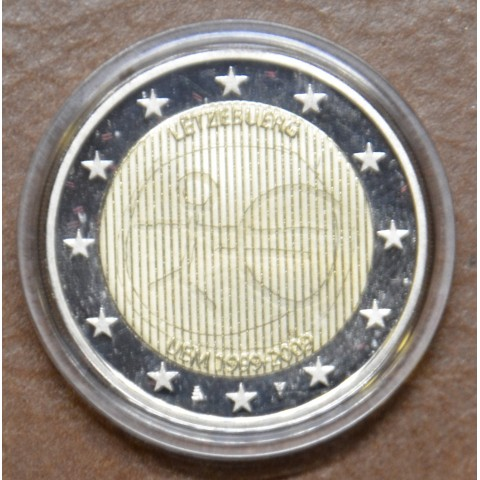 2 Euro Luxembourg 2009 - 10th Anniversary of the Introduction of the Euro (Proof)