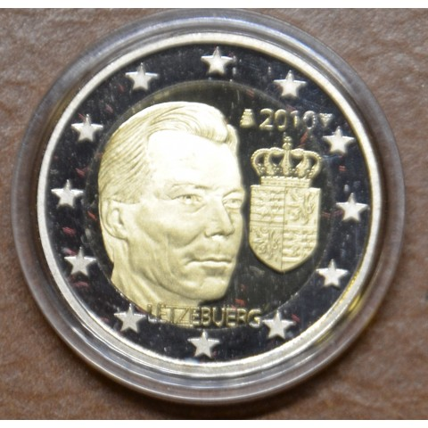 2 Euro Luxembourg 2010 - Coat of arms of the Grand Duke  (Proof)