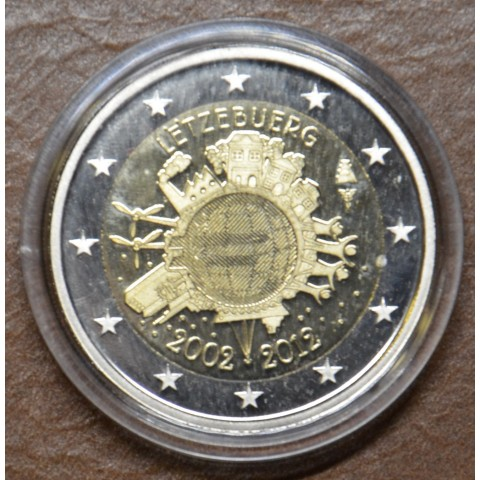 2 Euro Luxembourg 2012 - Ten years of Euro (Proof)