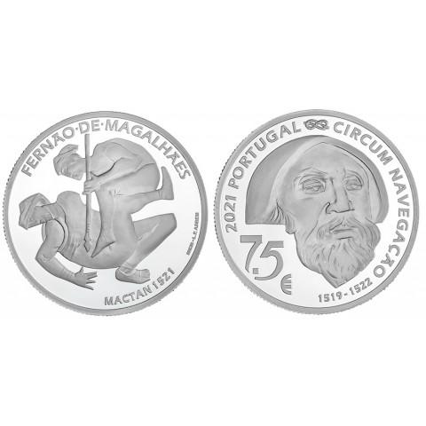 7,5 Euro Portugal 2021 -  Mactan 1521 (UNC)