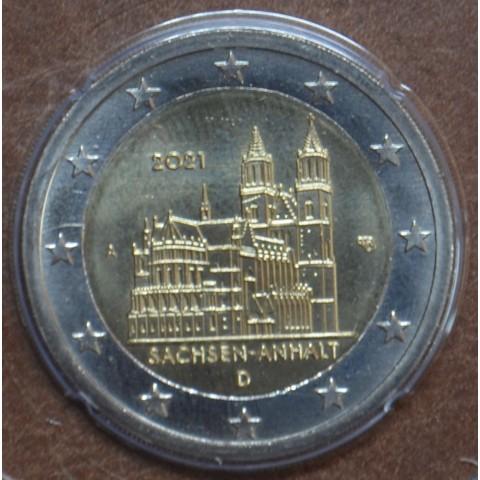 """2 Euro Germany """"A"""" 2021 - Sachsen-Anhalt (UNC)"""