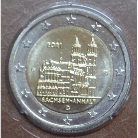 """2 Euro Germany 2021 """"G"""" - Sachsen-Anhalt (UNC)"""