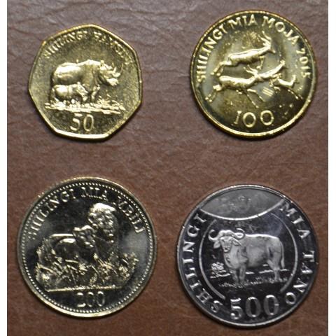 Tanzania 4 coins 1994-2015 (UNC)