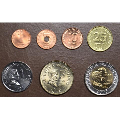 Philippines 7 coins 1995-2013 (UNC)