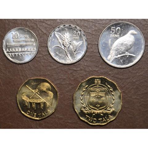 Samoa 5 coins 2011 (UNC)