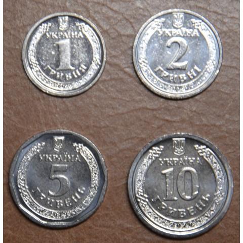 Ukraina 4 coins 2018-2020 (UNC)