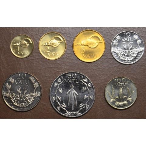 Vanuatu 7 coins 1983-2009 (UNC)