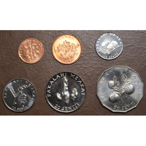 Tonga 5 coins 1981-2011 (UNC)