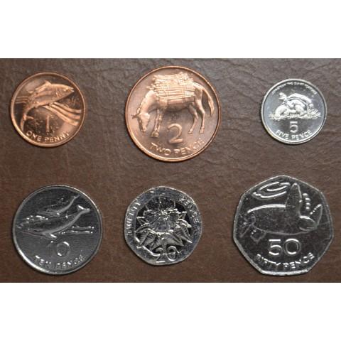Saint Helena 6 coins 1997-2006 (UNC)