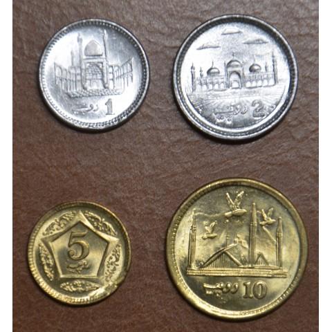 Pakistan 4 coins 2007-2019 (UNC)