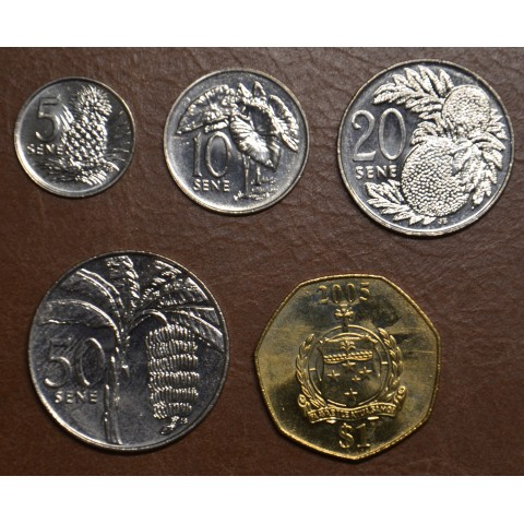 Samoa 5 coins 2002-2010 (UNC)