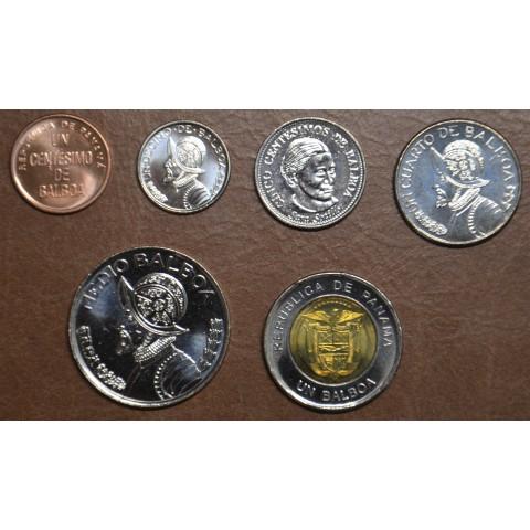 Panama 6 coins 1996-2018 (UNC)