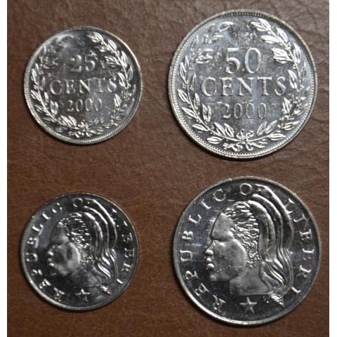 Liberia 2 coins 2000 (UNC)