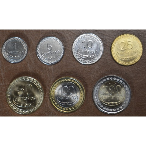 East Timor 7 coins 2003-2017 (UNC)
