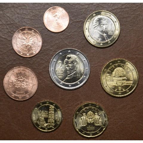 Set of 8 coins Austria 2021 (UNC)