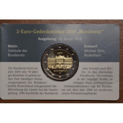 "2 Euro Germany ""D"" 2019 - Bundesrat (BU)"
