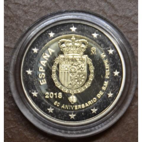 2 Euro Spain 2018 - Felipe VI. (Proof in capsula)