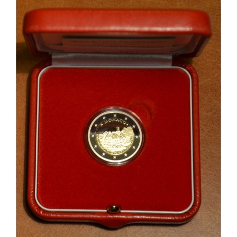 2 Euro Monaco 2015 - 800th anniversary of the construction of the first Castle on the rock (Proof)