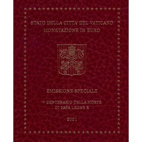 Set of 9 eurocoins Vatican 2021  (BU)