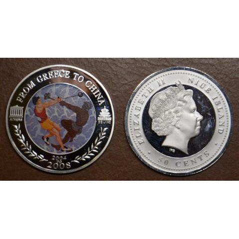 50 cent Niue 2008 - Hammer throw (Proof)