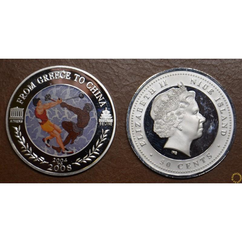2 dollars Niue 2008 - Hammer throw (Proof)