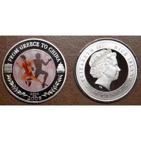 50 cent Niue 2008 - Running (Proof)