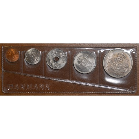 Danmark 5 coins 1977 (UNC)