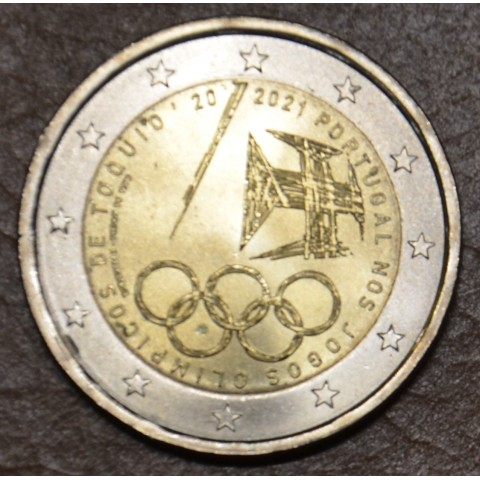 2 Euro Portugal 2021 - Tokyo Olympic Games (UNC)