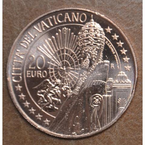 20 Euro Vatican 2021 - Art and Faith: St. Peter (UNC)