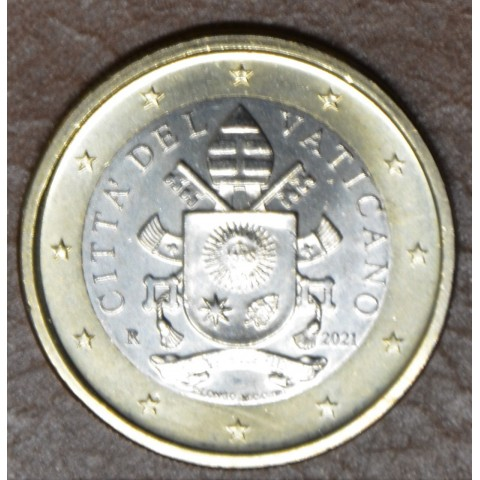 1 Euro Vatican 2021 (BU)
