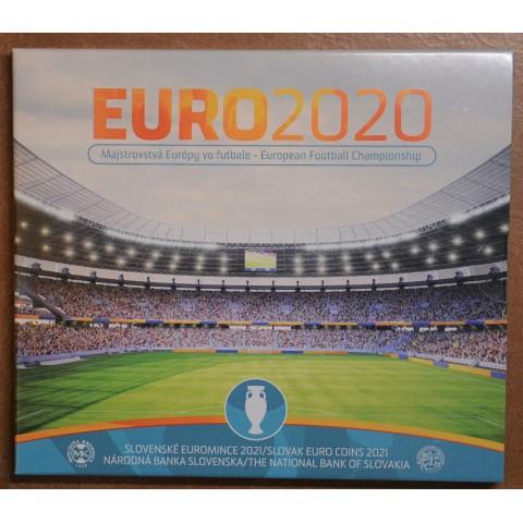 Slovakia 2021 set of coins - EURO 2020 (BU)