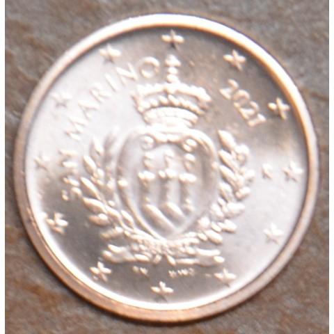 1 cent San Marino 2021 - New design (UNC)