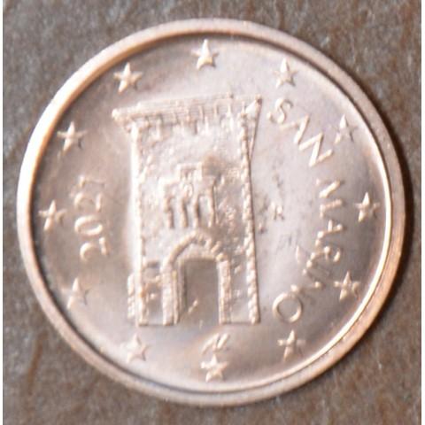 2 cent San Marino 2021 - New design (UNC)