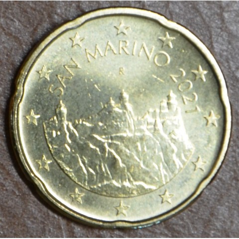 20 cent San Marino 2021 (UNC)