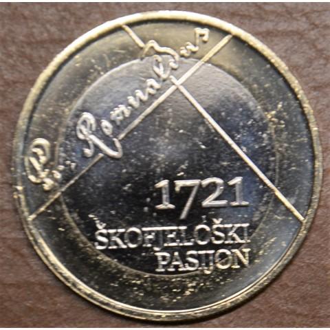 3 Euro Slovenia 2021 Škofja Loka (UNC)